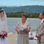 newell beach wedding