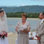 newell beach wedding